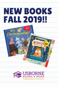 New Books Fall 2019 from Usborne Books and More