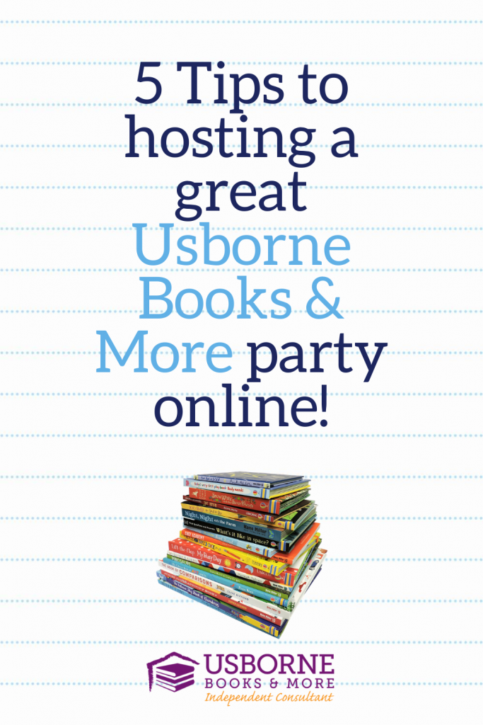 5 Tips for Hosting and Usborne Books & More Party - see more at marysbooknook.com