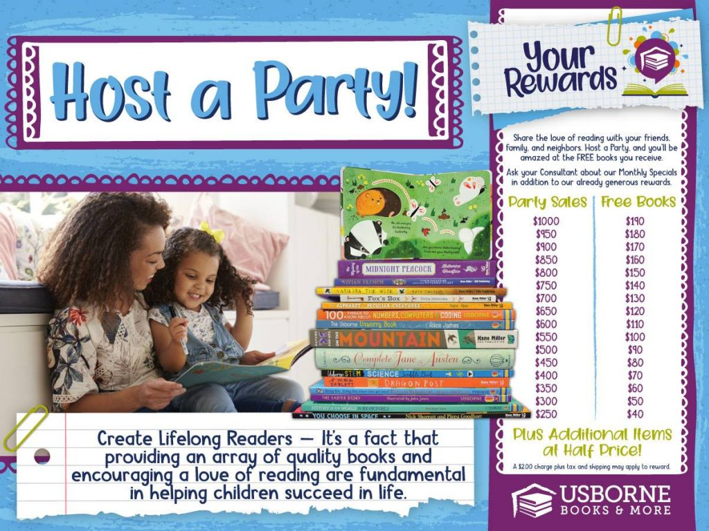 Host Rewards Usborne