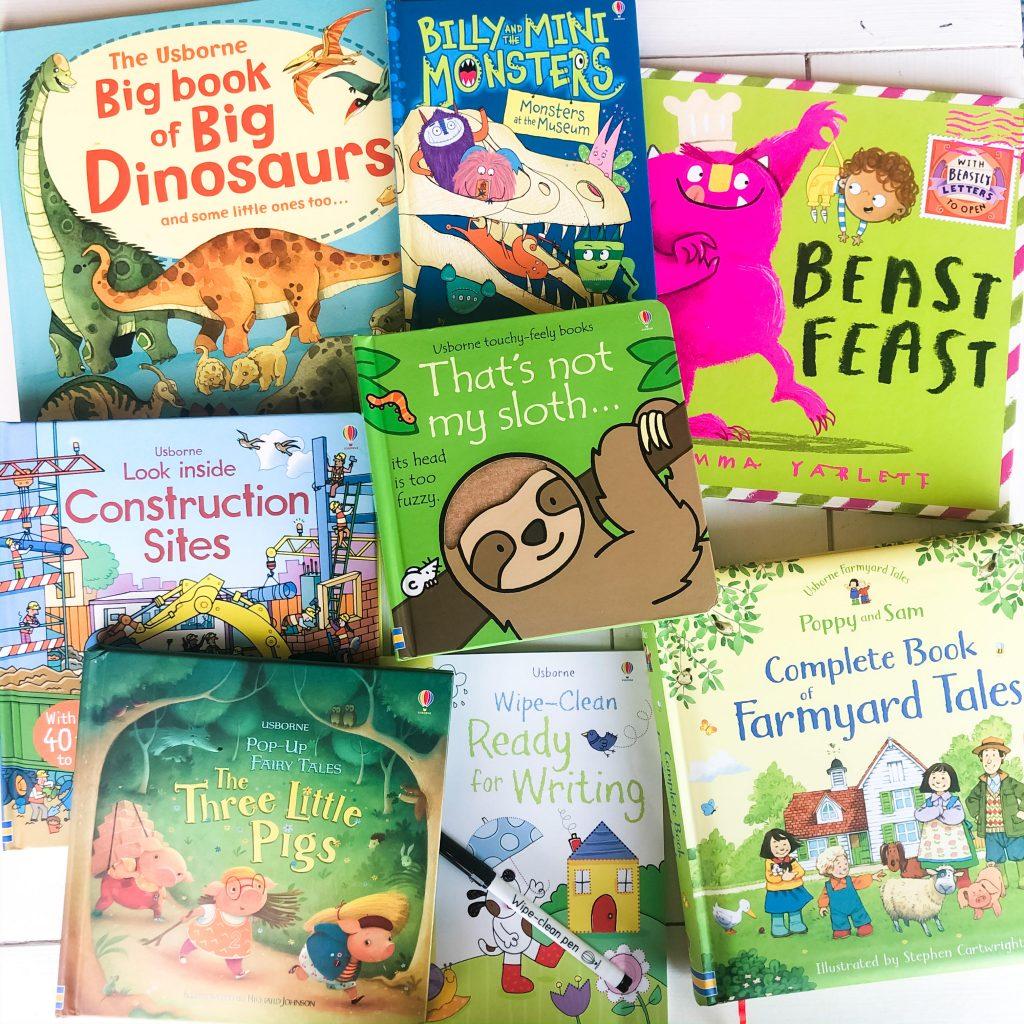Usborne Books & More selection of books