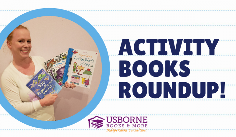 Activity Books to Keep Kids Busy At Home