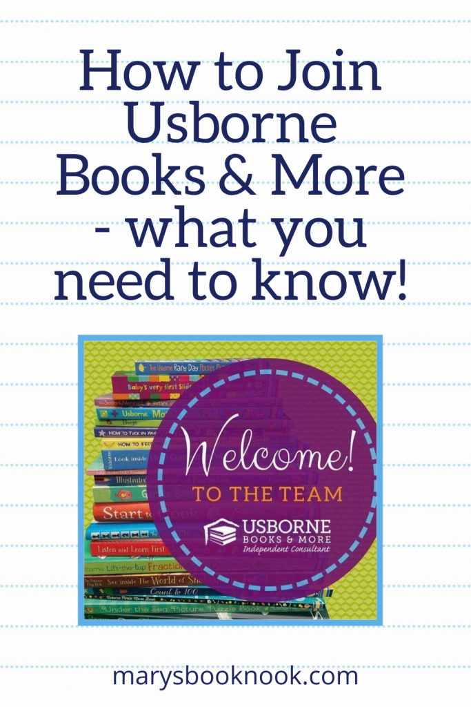 How to Join Usborne Books & More