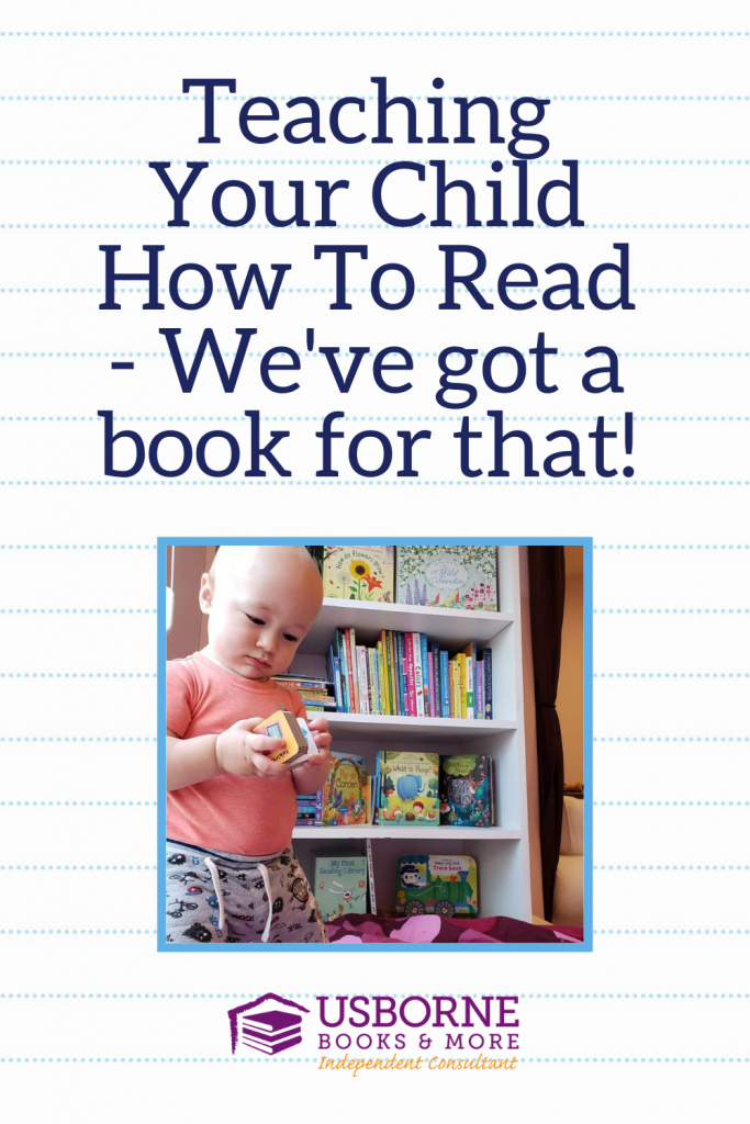 Teaching your child how to read