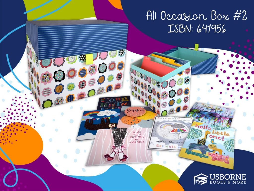 All Occasion Box from Cards for a Cause Fundraiser. The 30 cards come with a keepsake box