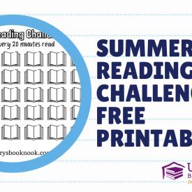 Summer Reading Challenge Free Printable