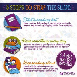 3 Steps to Stop Summer Slide