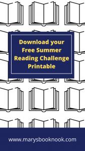 Summer Reading Challenge Pinterest Graphic