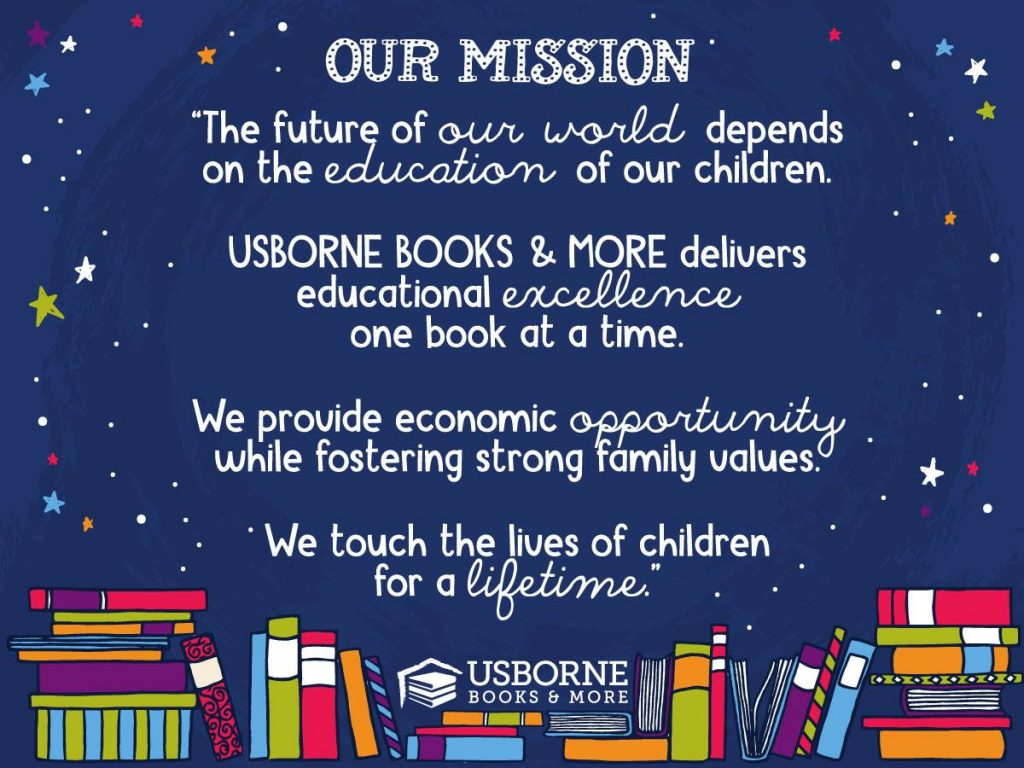 Usborne Books & More Mission Statement