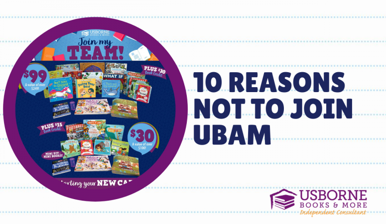 Top Ten Reasons NOT to Join Usborne Books & More