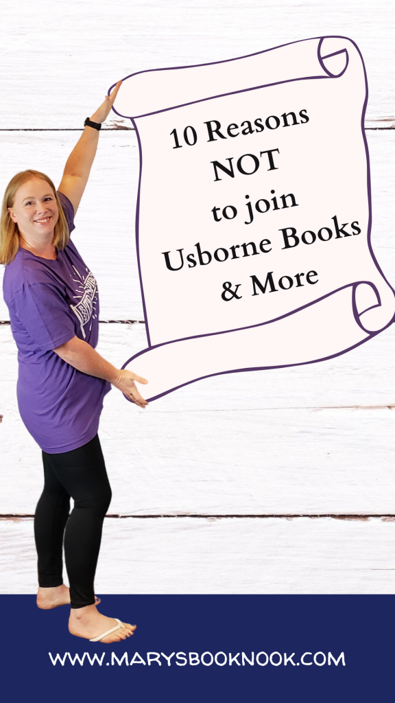 10 reasons not to join Usborne Books & More