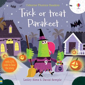 Trick or Treat Parakeet Books for Halloween from Usborne Books & More