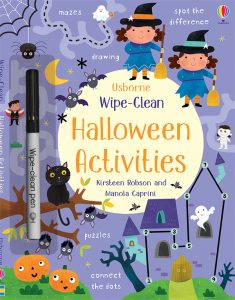 Wipe Clean Halloween Activities Books for Halloween from Usborne Books & More